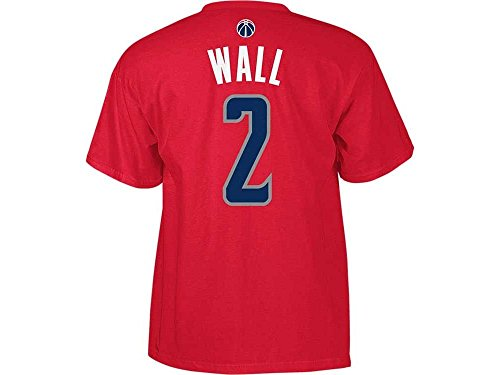 adidas NBA Washington Wizards John Wall #2 Men's 7 Series Name & Number Short Sleeve Tee, X-Large, (Washington Wizards Nba Series)