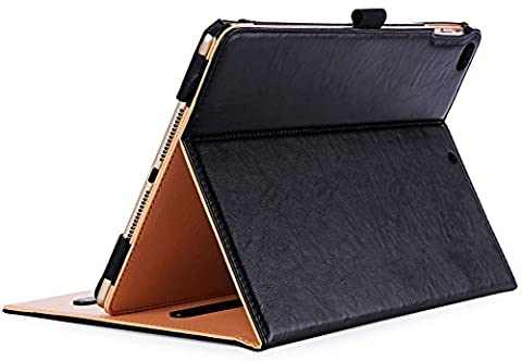 ProCase New iPad 9.7 Case 2017 - Vintage Folio Stand Cover Case for New 2017 Apple iPad 9.7 inch, Also Fit iPad Air 2 / iPad Air, with Multiple Viewing Angles, Auto Sleep/Wake - Cases and Covers
