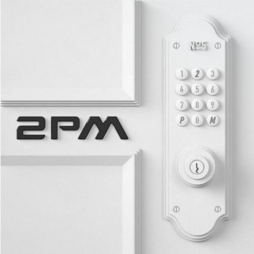 2PM [NO.5] 5th Album White/Black Random Ver CD+52p Photobook+Tracking Number K-POP SEALED