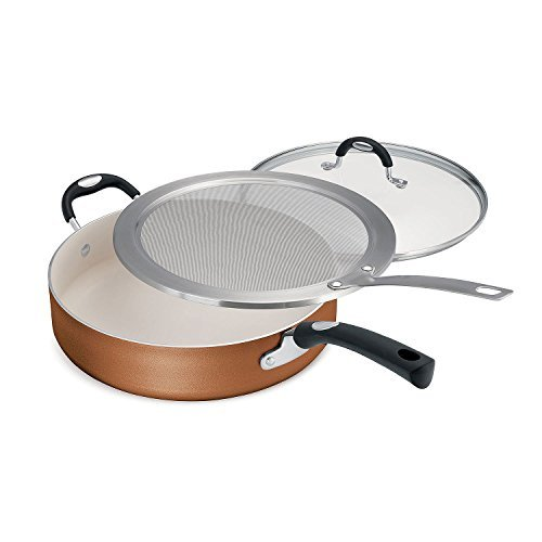 Tramontina 3 Piece Deep Saute Pan Set