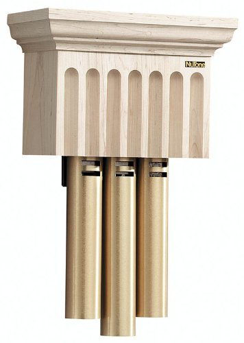 NuTone LA70MA Traditional Wired Musical Door Chime, Maple Brass Door Chimes