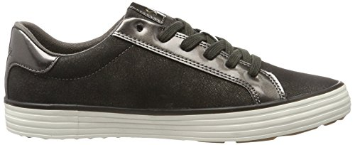 Basses brown Sneakers S Marron 23611 Femme Metal oliver qxSUwtC7