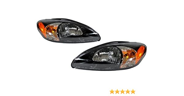 Newmar Kountry Star 2005-2008 RV Motorhome Pair Replacement Headlights Head Lights Front Lamps Left /& Right
