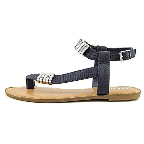 Bar Iii Vrouwen Verna Open Teen Ongedwongen Strappy Sandals Marine