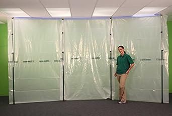 Curtain Wall Dust Barrier 15 Starter Kit Amazon Com