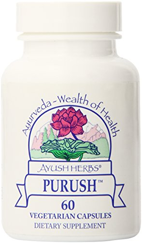 Ayush Herbs AYU-Test (Formerly Purush) Herbal Supplement, 60 Count