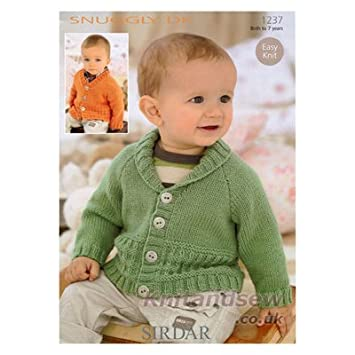 Sirdar Snuggly Dk Knitting Pattern 1237 Amazon Baby