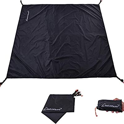 2 lot Waterproof Tent Footprint Camping Tarp for Hiking Backpacking Beach