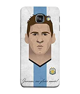 ColorKing Football Messi Argentina 18 Multicolor shell case cover for Samsung A7 2016