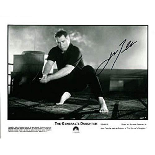 John Travolta Autographed/Signed The Generals Daughter 8x10 Photo