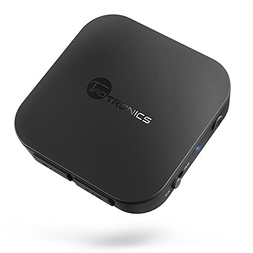 TaoTronics Bluetooth 4.1 Transmitter Receiver, Wireless 3.5mm Audio Adapter for TV/Car Sound System