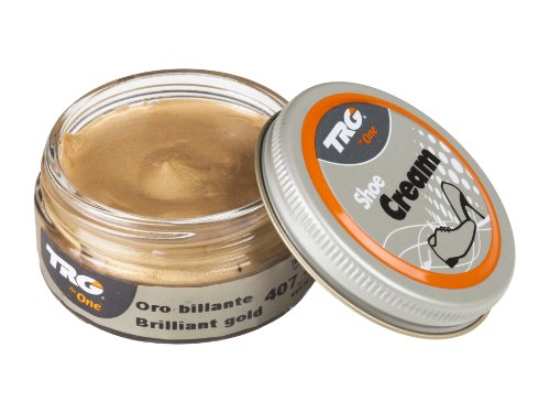 TRG The One Metallic Shoe Cream 50ml #407 Brilliant Gold
