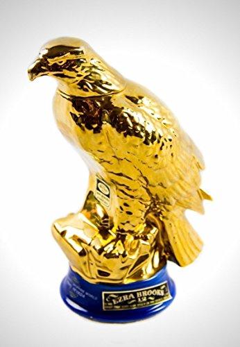 COLLECTORS SERIES '1971 EZRA BROOKS 24K GOLD EAGLE' DECANTER