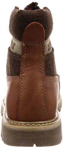 Leather Leather Leather Brown Caterpillar Uomo Marrone Marrone Marrone Stivali Brown znnvRPq