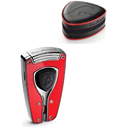 Tonino Lamborghini Forza Red Torch Flame Cigar Lighter