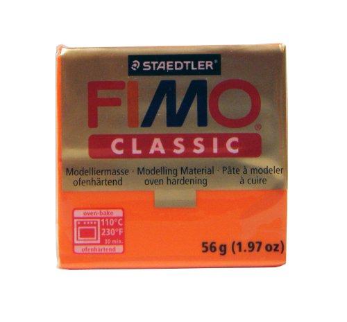 ORANGE FIMO CLASSIC 8000-4 ()