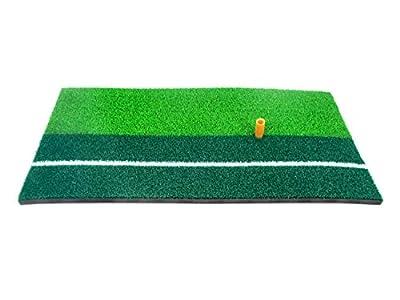 "Trademark Innovations 23.6"" x 12"" Indoor Practice Golf Mat for Hitting"