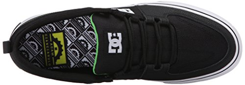 DC - Herren Lynx Vulc Adam Low Top Freizeitschuh, EUR: 47, Black/Green