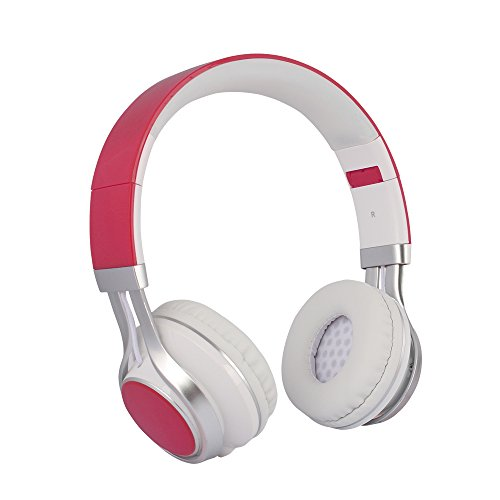 YHhao Over-Ear Headphones, On-Ear Headsets Noise Cancelling, Red1