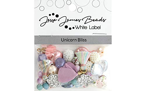 Jesse James Beads - Jesse James Beads 10390 Unicorn Bliss Design Elements Beads Pink, Blue, Purple
