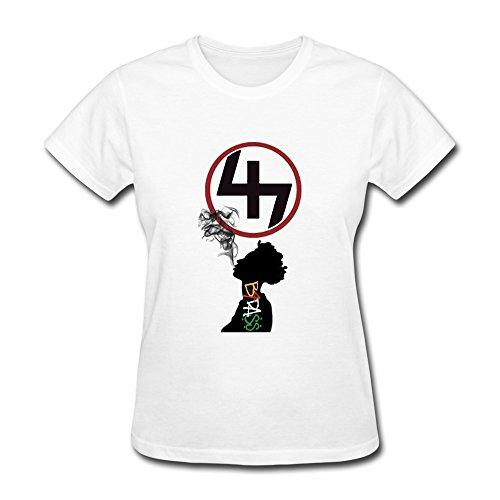 TASY Women's Joey Badass Progressive Era NYC 100% Cotton T-shirt - S White