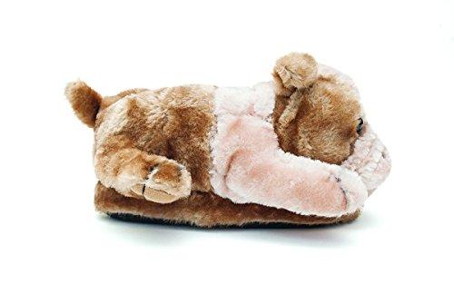 Womens Full Foot Premium 50 Seller Feet and Happy Slippers Top Bulldog Styles Animal Mens SqX88I