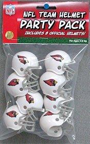 Riddell NFL Arizona Cardinals Helmet Pocket ProTeam Helmet Party Pack, Team Colors, One ()