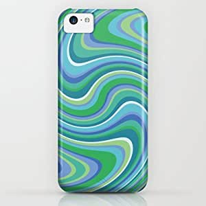 Twist And Shout-oceania Colorway iPhone & iphone 5c Case by Groovity