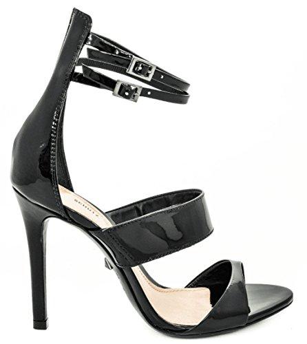 Schutz Sandalo Alto 1255 Sto/Vernice Black