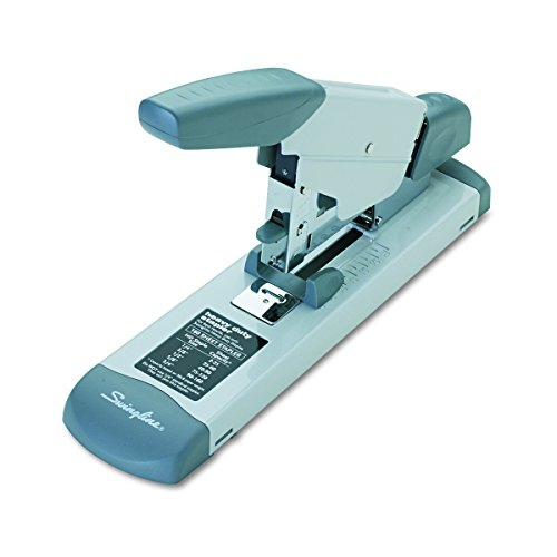 Swingline 39002 Deluxe Heavy-Duty Stapler, 160-Sheet Capacity, Platinum