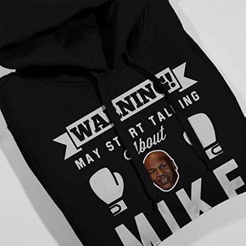 Tyson Black Warning Mike Sweatshirt May Start Hooded About Women's Talking qIXIxRwrz