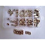 FidgetFidget T Sliding Nut Block Slot Nuts Assortment Set 90pcs M3/M4/M5/M6 for 20/30 Series
