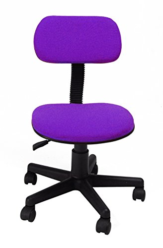 Homycasa Mid-Back Purple Mesh Computer Chair (Computer Purple Chair)