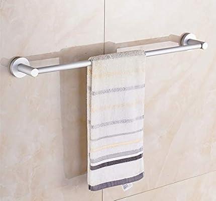YAONAI Riel de Toalla Simple montado en la Pared Riel de Toalla para el baño, Riel/Porta toallero Simple y contemporáneo, Estante de Toallas multifunción