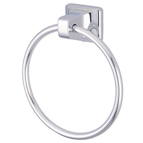 (Kingston Brass BA014C Americana American Towel Ring, 25-5/8-Inch, Polished Chrome)