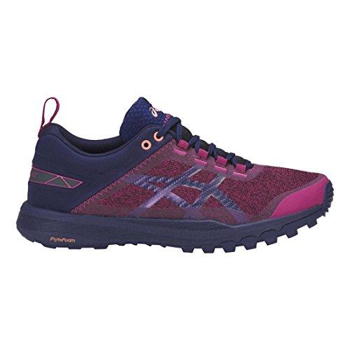 債務者お風呂接続されたAsics Gecko XTレディース靴Batonrouge/Indigoblue /ピンク