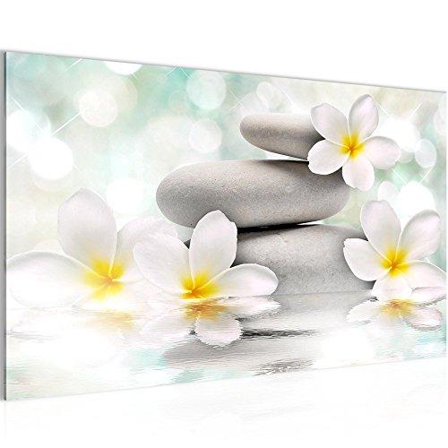 Feng Shui Blumen Bild Kunstdruck Auf Vlies Leinwand B480
