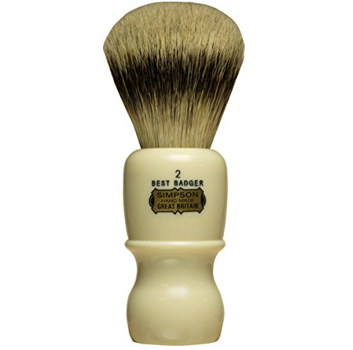 (Simpsons Captain 2 Best Badger Handmade Shaving Brush)