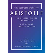 Amazon aristotle kindle store the complete works of aristotle the revised oxford translation one volume digital edition fandeluxe Gallery