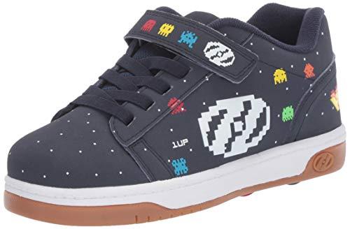 Heelys Boys' Dual Up X2 Tennis Shoe, Navy/Multi/Asteroids, 3 M US Little Kid (X2 Skate Shoes)