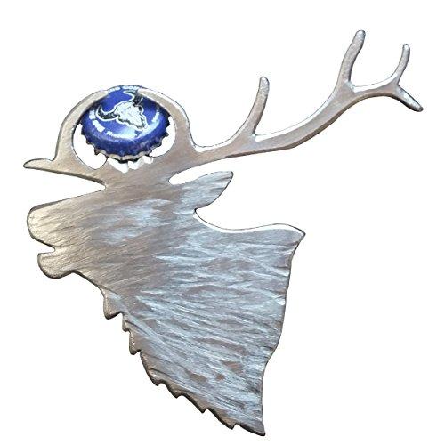Elk Bottle Opener from Blue Moose Metals