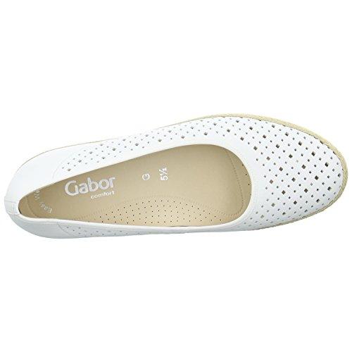 Gabor 62.402.50 - Zapatos de vestir de Piel para mujer Weiß