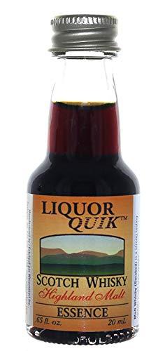Liquor Quik Natural Whiskey/Bourbon Essence, 20 mL (Scotch Malt Whisky) (Best Scotch Malt Whisky)
