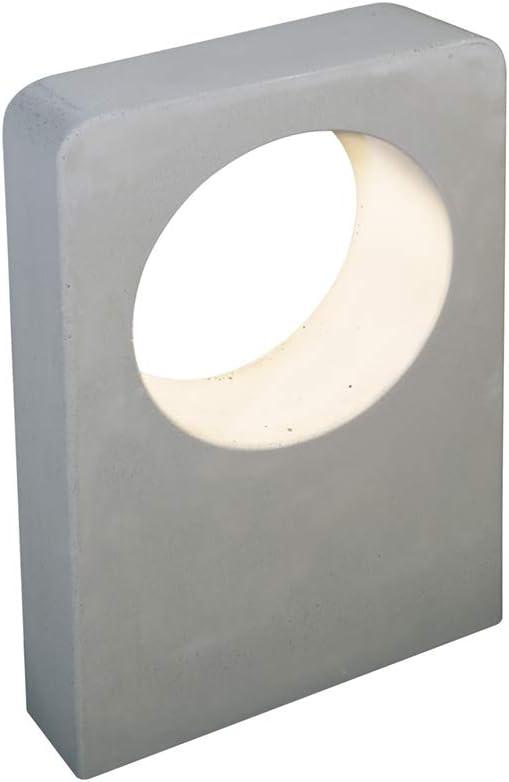 Baliza LED de Cemento con IP65 para el jardín de altura 45cms 580 Lúmenes fabricada a mano: Amazon.es: Iluminación