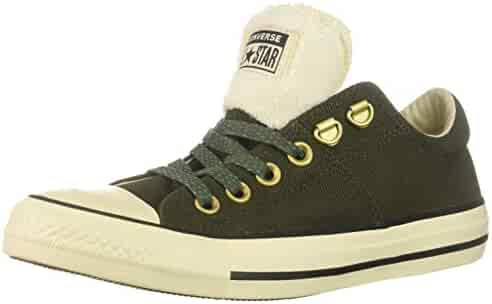 5abea9043ce5 Converse Women s Chuck Taylor All Star Faux Fur Madison Low Top Sneaker