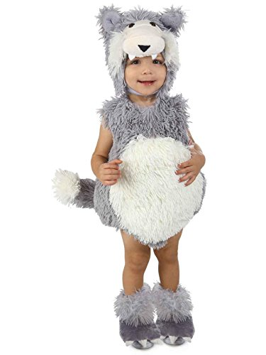 Princess Paradise Baby Vintage Beau The Big Bad Wolf Deluxe Costume, As Shown, 12 to 18 Months ()