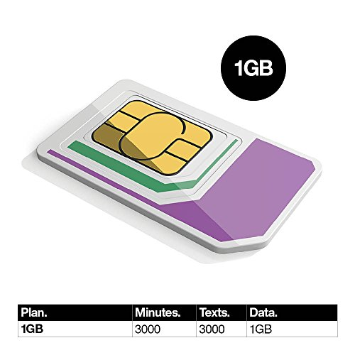 PrePaid Europe (UK THREE) sim card 1GB data+3000 minutes+3000 texts for 30 days with FREE ROAMING / USE in 71 destinations including all European countries by Three UK Mobile (Image #1)