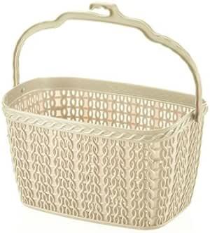 Pequeño Plástico de punto para colgar ropa PEG pinzas soporte para la cesta bolsa cubo caja bañera: Amazon.es: Hogar