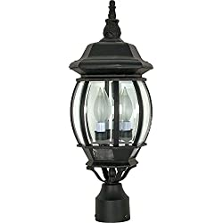 Nuvo Lighting 60/899 Three Light Post Lantern