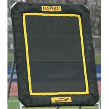 Brine Lacrosse Lax Rebound Wall Replacement Mat (3 x 4-Feet, Black)